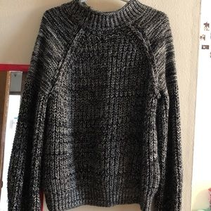 Sweaters - Chunky Knit Gray Sweater